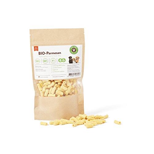 Hundesnack Bio, Hundekekse Bio, Cookies BIO-Parmesan Hunde 100g | PETS DELI | Nahrungsergänzung für Hunde, Naturprodukt, Leckerbissen für Hunde