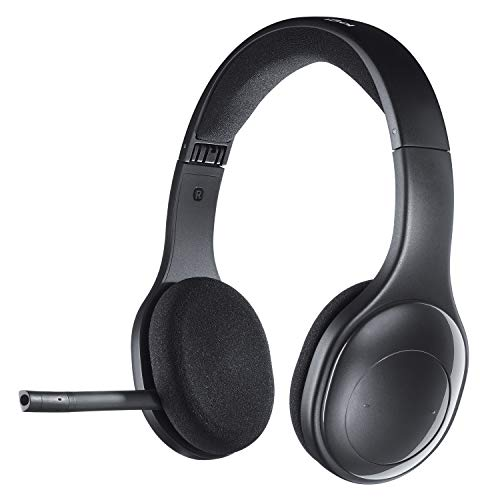 Logitech H800 Bluetooth Wireless Headset with Mic for PC, Tablets and Smartphones ()