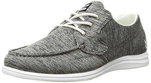 Brunswick Ladies Karma Bowling Shoes- Grey/White, 7.5