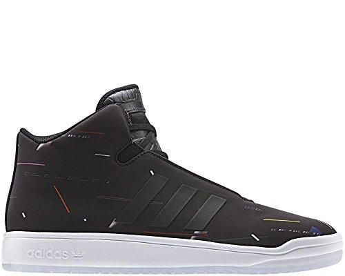 Adidas Veritas Mid Herrenschuhe Schwarz (S77834) Hightop Sneaker