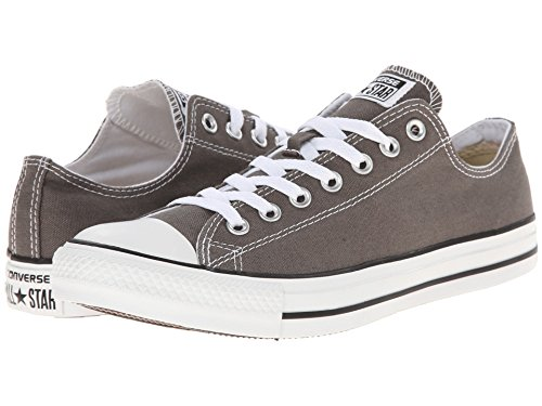 Converse Unisex Chuck Taylor All Star Low Top Sneakers -  Charcoal - 7.5 B(M) US Women / 5.5 D(M) US Men (Best Converse For Guys)