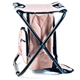 Ultralight Backpack Cooler Chair - Compact