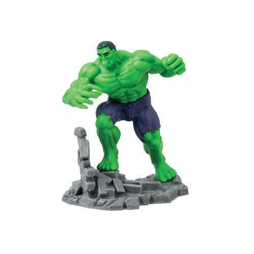 Marvel Hulk Collectible Action Figure (Hulk And The Agents Of Smash Games)
