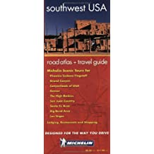 Michelin Regional Atlas and Travel Information Usa Southwest, No. 99659, 1st