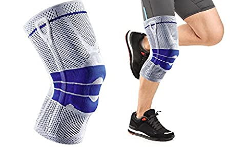 One & Only USA Magnetic Gel Padded Knee Sleeves for Athletic Maximum Knee Support (1 Brace) (Walmart Beactive Brace)