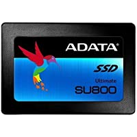 "ADATA Ultimate SU800 1TB - Disco Duro sólido (Serial ATA III, TLC, SMI, Negro, 2.5"", CE, FCC, BSMI, VCCI, KCC)"