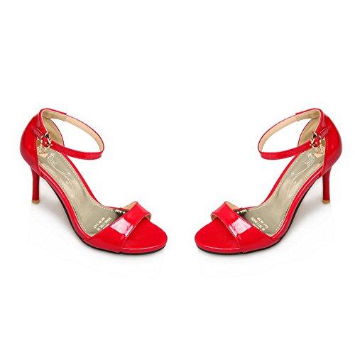 Donna Red 35 Rosso Ballerine BalaMasa P8xFT5q