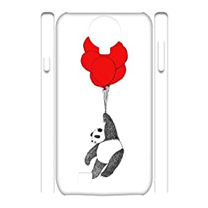 Chinese Panda Customized 3D Phone Case for SamSung Galaxy S4 I9500,diy Chinese Panda Cover Case