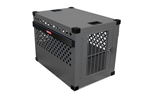 Impact Case Stationary Dog Crate SIZE-500 (Gray) by Impact Dog Crates