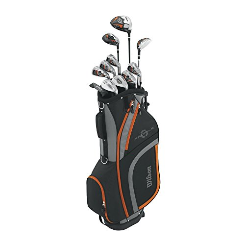 Wilson Profile XLS Teen Complete Package Golf Set, Right Hand, Orange