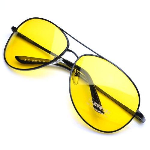 ca35171713 PenSee 103 Night-vision Glasses Anti-glare Driving Eyewear Polarized Black  Frame - Buy Online in KSA. Sporting Goods products in Saudi Arabia.