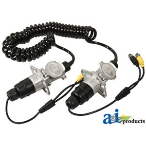 A&I Products CabCAM Trailer Cable Replacement for Case-IH Part Number TCK523