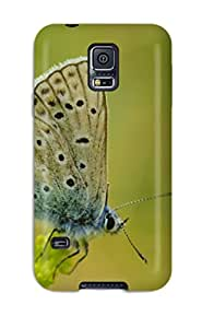 Faddish Phone Butterfly Case For Galaxy S5 / Perfect Case Cover