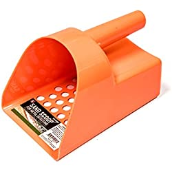 SE GP3-SS20OR Prospector's Choice Orange Sand Scoop for Metal Detecting