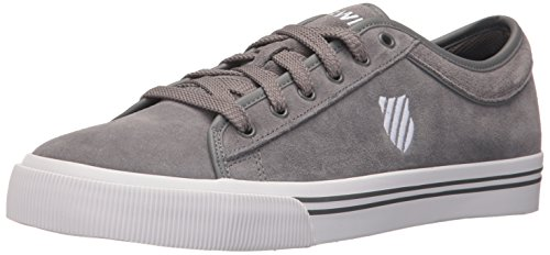 K-swiss Heren Bridport Ii Suede Sneaker Charcoal / Wit