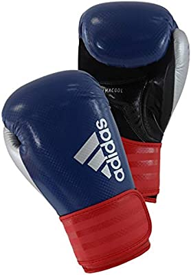 Adidas Hybrid Boxing Glove Available in Red or Blue and in a range of sizes