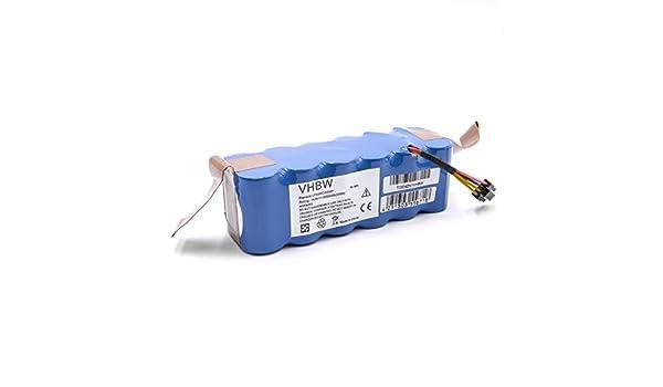 vhbw Batería NiMH 3000mAh (14.4V) para Robots Aspirador doméstico Haier SWR-T320, SWR-T321, SWR-T322, SWR-T325 reemplaza LP43SC2000P.