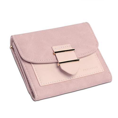 Women Wallet Leather Purse Hasp Coin Purses Fashion Patchwork Ladies Wallet