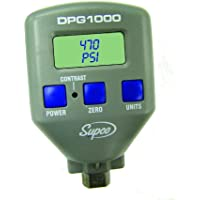 Supco DPG1000   Pressure Gauge, Digital Display, -14-1000 psi Range, 0.5% Accuracy, 1/8 Female NPT Connection