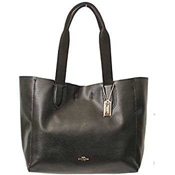 Amazon Com Coach Pebble Leather Derby Tote F58660 Shoes