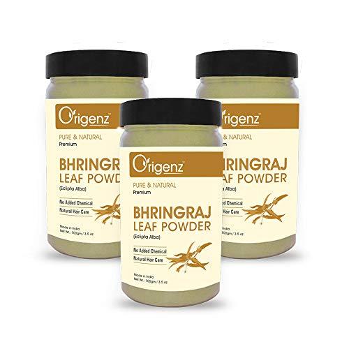 Origenz Premium Bhringraj Powder for Hair Care 100gm (Pack of 3)