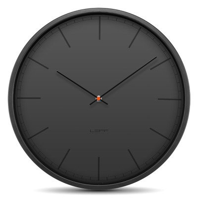 Tone35 Wall Clock Color: Black 41Z8f5If1dL