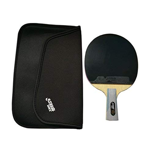 (DHS 6006 New Series SUPERSTAR Table Tennis Racket Penhold with a LANDSON Rubber Protction)