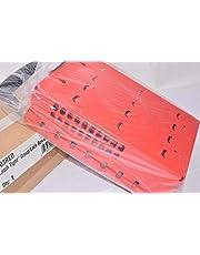 Master Lock Caja de candados en grupo Latch Tight, rojo-Portátil o montaje en pared 503RED