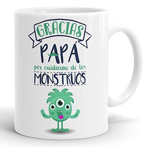 REGALOS ESTRELLA AZUL Taza dia del Padre Regalo para Papa, Papa te Quiero, al Mejor papa del Mundo, Regalos Padres, Regalos dia del Padre, te Quiero Papa, Taza con Frases (Gracias papa)