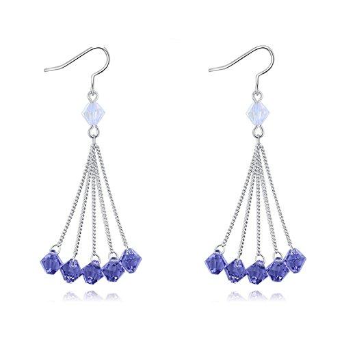 Women Earings Long Tassel Drop Earring Women Bead Luxury Earring Jewelry Christmas Gift#128263 - Buy To Tiffany Where And Co