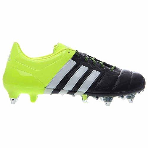Adidas Ace 15.1 Sg Leder Zwart