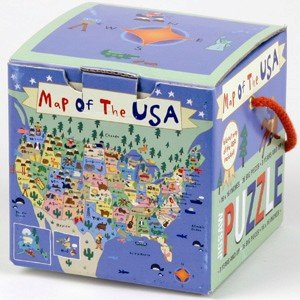 Worksheet. Amazoncom Map of the USA Jigsaw Puzzle Toys  Games