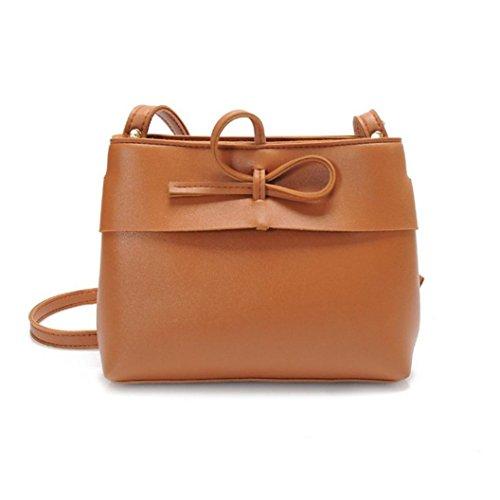 582d57ff66f7 Ladies Cross Body Shoulder Bag Handbags Large Capacity Bags Brown for Women  TOPUNDER L - Buy Online in Oman.