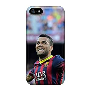 Top Quality Rugged Barcelona Daniel Alves Is Thanking The Fans Cases Covers For Iphone 5/5s