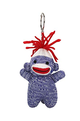 Plushland Adorable Sock Monkey with Vibrant Colors of