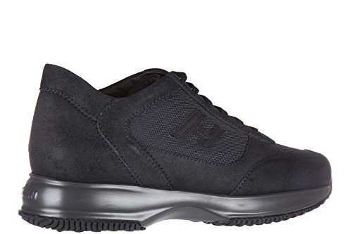 Hogan chaussures baskets sneakers homme en cuir interactive h 3d blu