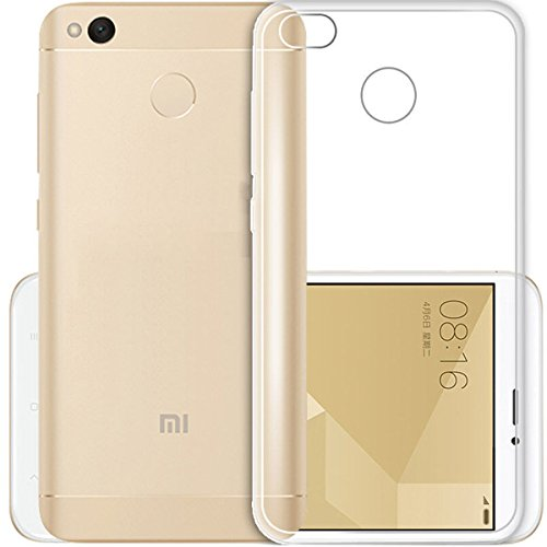 Price comparison product image Nacodex Xiaomi Redmi 4X Case, [Lightweight] [Anti Scratch] HD TPU Case for Xiaomi Redmi 4X, (Clear) [Scratch Resistant] Crystal HD Slim Fits with Xiaomi Redmi 4X