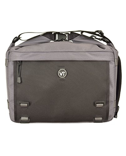 Visiotrek VS-GRY Pixel 18 Camera and Video Recorder Shoulder Bag (Grey) by Visiotrek