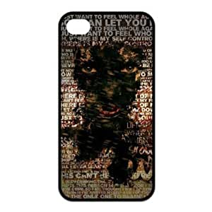 Memphis May Fire Rock Band Custom iPhone 4 / 4S, iPhone 4 / 4S Black Silicone Case Protective Cover, Water Proof iPhone 4 / 4S case Diy