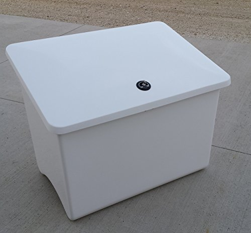 Mekco Sand/Salt Storage Box, 75 Gal. Capacity, 40 x 28 x 31 by Mekco