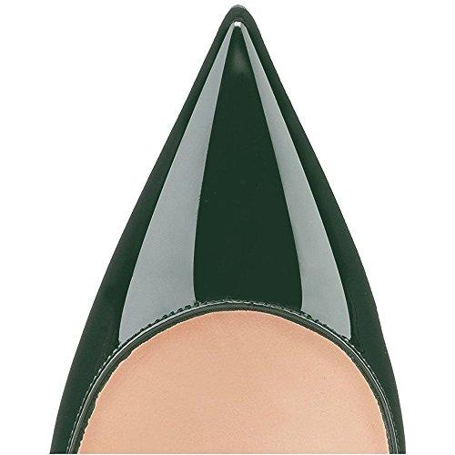 Teräväkärkiset 85mm Naisten Toimiston Stiletto Slip Seksikäs Pumput Korkokengät on Liiketoimintaan Kengät Modemoven qPWxdT45P