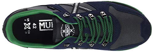 Multicolore 282 Mixte Munich Adulte Negro Massana Bleu Azul Baskets EU 6B6xIA