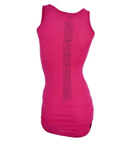 Para Natural Born Mujer Yogi De Rosa Words Yoga Tirantes Wonderful Camiseta PP8Zwx