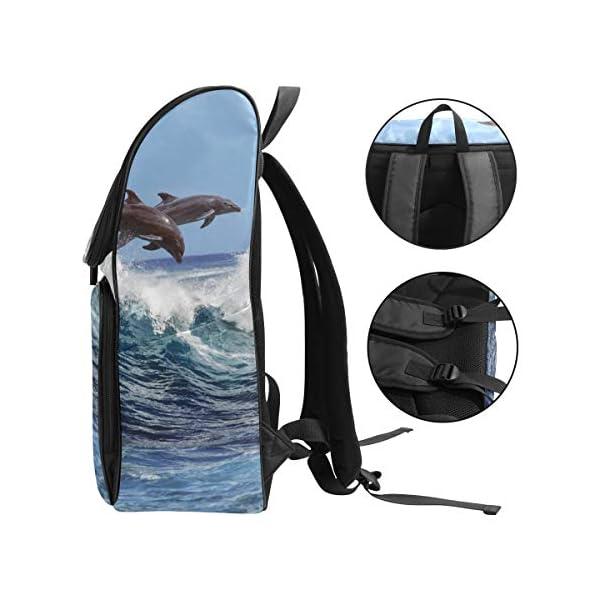 DXG1 - Zaino per donne e uomini, ragazzi, balene oceaniche, borsa alla moda, borsa da viaggio, università, casual, per… 3 spesavip