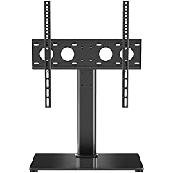 "1homefurnit Universal Table Top Pedestal TV Stand with Bracket for 32""-50"" LCD/LED/Plasma TVs"