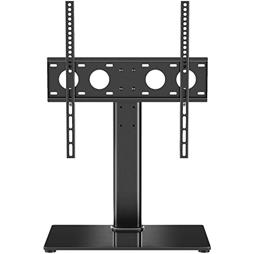 1homefurnit Universal Table Top Pedestal TV Stand with for sale  Delivered anywhere in USA