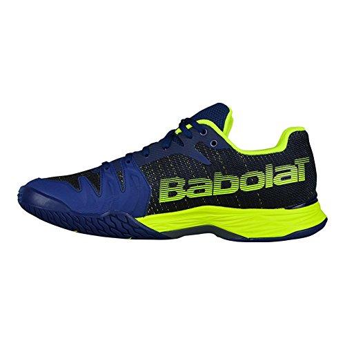 Scarpe Da Tennis Da Uomo Babolat Jet Mach Ii - Blu / Giallo