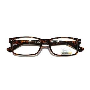 2eef76af8b Casual Fashion Horned Rim Rectangular Frame Clear Lens Eye Glasses  (Tortoise)
