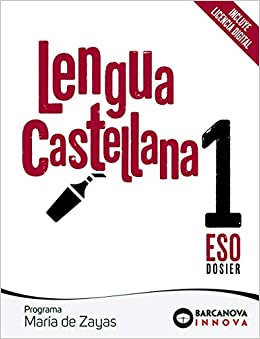 María de Zayas 1 ESO. Lengua castellana: Novetat Innova: Amazon.es ...