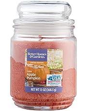 برطمان شمعة برائحة التفاح وقرع العسل من كاندل لايت - مشمشي